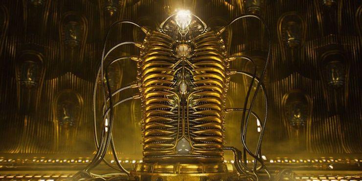 Guardians of the Galaxy Adam Warlock Birthing Pod