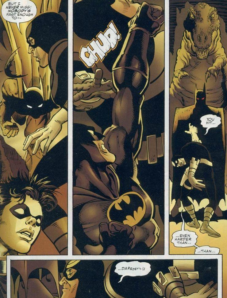 Marvel vs DC Batman Daredevil