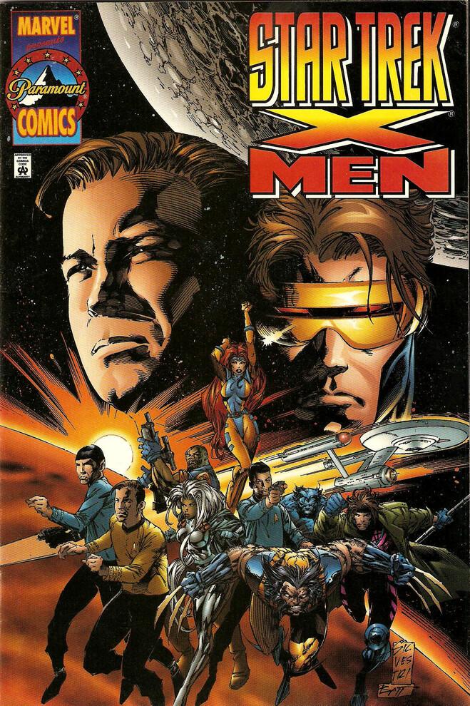 Star Trek / X-Men (1996) Cover