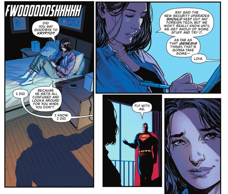 Action Comics #1035: Krypto Heartbreaking Detail
