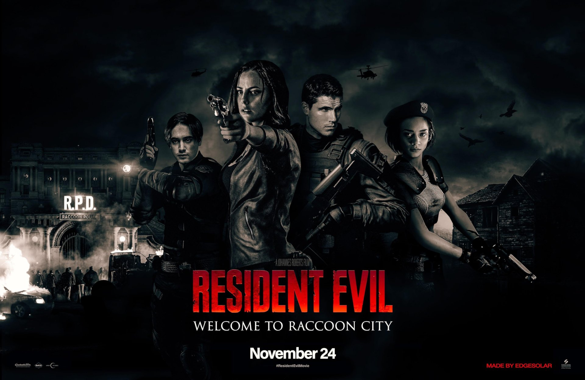 Resident Evil: Welcome To Raccoon City is going to be extremely scary